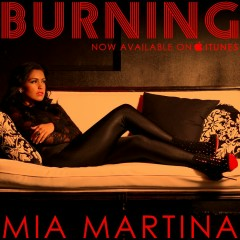 Burning (Promo CD) - Mia Martina