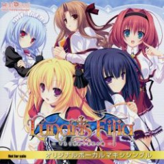 Lunaris Filia ~Kiss to Keiyaku to Shinku no Hitomi~ Original Vocal Maxi Single