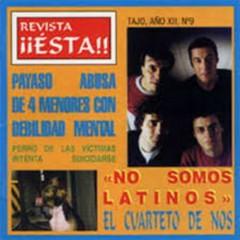 Revista ¡¡Ésta!! - El Cuarteto de Nos