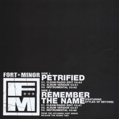Petrified / Remember The Name (Single) - Fort Minor