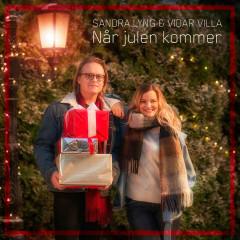 Når Julen Kommer (Single) - Sandra Lyng, Vidar Villa