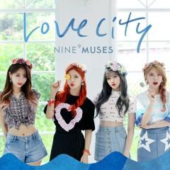 MUSES Diary Part.3 : Love City (Mini Album) - Nine Muses