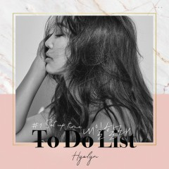 HYOLYN Set Up Time #1 To Do List (Single)