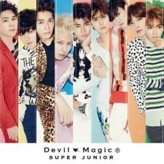 Devil / Magic (Japanese) - Super Junior