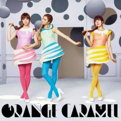 Cookies, Cream & Mint (Japanese) - Orange Caramel