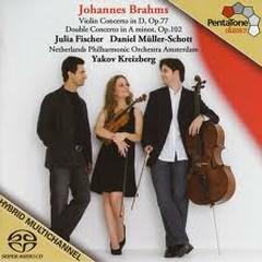 Violin Concerto,Double Concerto - Julia Fischer,Yakov Kreizberg,Muller-Schott