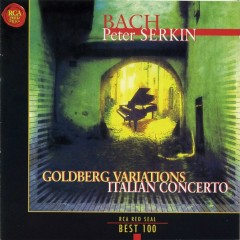 RCA Best 100 CD 7 - J.S.Bach Goldberg Variations CD 1 - Peter Serkin