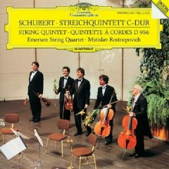 Schubert String Quintet In C Major D.956 - Emerson Quartet,Mstislav  Rostropovich