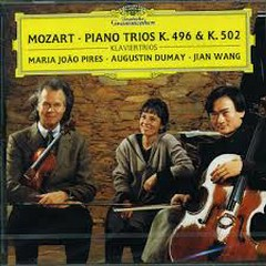 Mozart - Piano Trios K. 496 & K. 502 - Augustin Dumay,Maria Joao Pires,Jian Wang