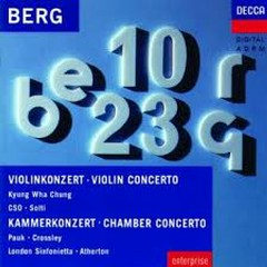 Violin Concerto; Chamber Concerto - Kyung-wha Chung,Sir Georg Solti,Chicago Symphony Orchestra