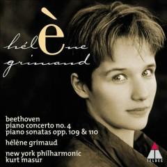 Beethoven - Piano Concerto No. 4; Piano Sonatas Opp. 109 & 110