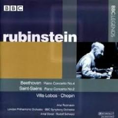 Beethoven - Piano Concertos No. 4, Saint Seans Piano Concertos No. 2