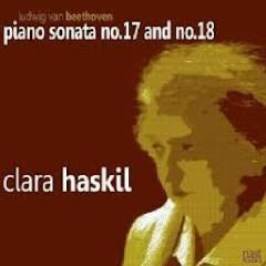 Beethoven - Piano Sonata No. 17 & 18  - Clara Haskil