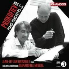 Prokofiev Piano Concertos, Nos. 1 - 5 CD 2