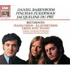 Beethoven - Piano Trios CD 3 - Jacqueline du Pré,Pinchas Zukerman,Daniel Barenboim