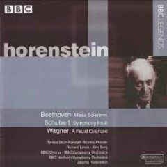 Beethoven - Missa Solemnis; Schubert: Symphony No. 8; Wagner - A Faust Overture CD 1  - Jascha Horenstein