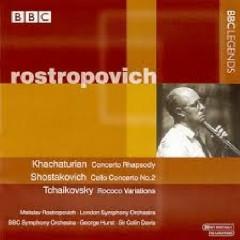 Rostropovich Plays Khachaturian, Shostakovich & Tchaikovsky - Mstislav  Rostropovich