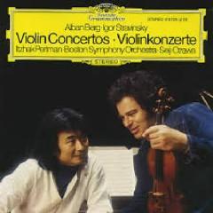 Alban Berg, Igor Stravinsky - Violin Concertos - Seiji Ozawa,Itzhak Perlman