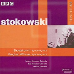 Shostakovich - Symphony No. 5; Vaughan Williams - Symphony No. 8 - Leopold Stokowski
