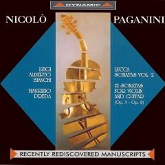 Lucca Sonatas (Vol.2)CD1 - Nicolo' Paganini