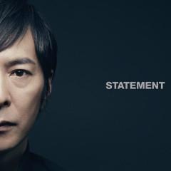 Statement - Tokunaga Hideaki