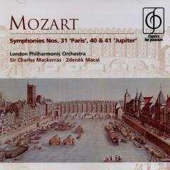 Mozart Symphonies Nos. 31 Paris 40 & 41 Jupiter