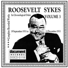 Complete Recorded Works Vol.3 (CD1) - Roosevelt Sykes