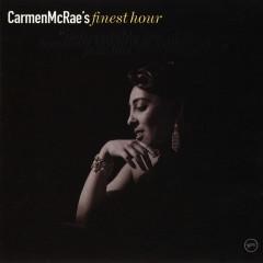 Carmen McRae's Finest Hour - Carmen Mcrae