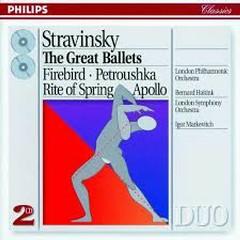 Stravinsky - The Great Ballets CD 2 (No. 1) - Igor Markevitch,Bernard Haitink,London Symphony Orchestra