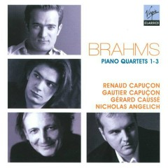 Brahms - Piano Quartets Nos. 1 - 3 CD 1