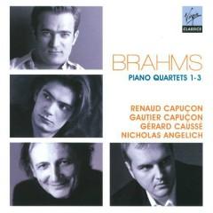 Brahms - Piano Quartets Nos. 1 - 3 CD 1 - Nicholas Angelich, Renaud Capucon