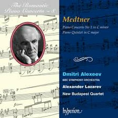 The Romantic Piano Concerto, Vol. 08 – Medtner 1 & Quintet