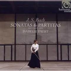 Bach: Sonatas & Partitas For Solo Violin - Isabelle Faust