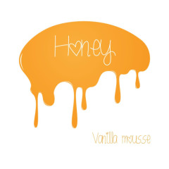 Honey - Vanilla Mousse