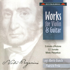 Nicolo Paganini  Complete Works For Violin And Guitar CD1 - Nicolo' Paganini