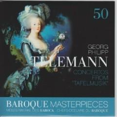 Baroque Masterpieces CD 50 - Telemann Concertos From Tafelmusik - Collegium Aureum
