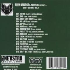 Dirty District (Instrumentals) (CD1) - Slum Village