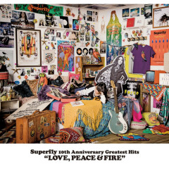 Superfly 10th Anniversary Greatest Hits 'LOVE, PEACE & FIRE' CD3