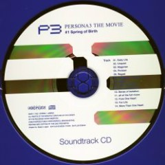 PERSONA3 THE MOVIE #1 Spring of Birth Soundtrack CD