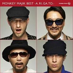 MONKEY MAJIK BEST - A.RI.GA.TO - CD1