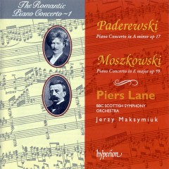 The Romantic Piano Concerto, Vol.01 – Moszkowski & Paderewski  - Piers Lane,BBC Scottish Symphony Orchestra,Jerzy Maksymiuk