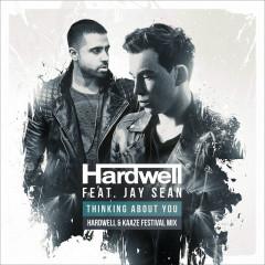 Thinking About You (Hardwell & Kaaze Festival Mix) (Single) - Hardwell, Jay Sean