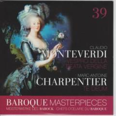 Baroque Masterpieces CD 39 - Monteverdi Vespro Della Beata Vergine