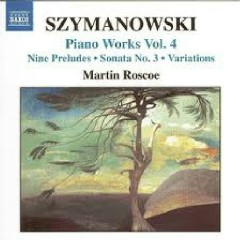 Karol Szymanowski Piano Music Works CD 4 No. 1
