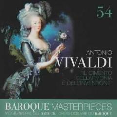 Baroque Masterpieces CD 54 - Vivaldi Il Cimento dell'Armonia e Dell'Inventione (No. 1)