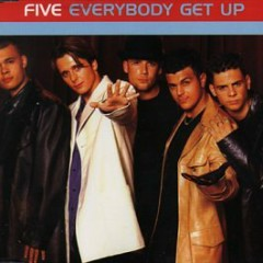 Everybody Get Up (CDS) - Five