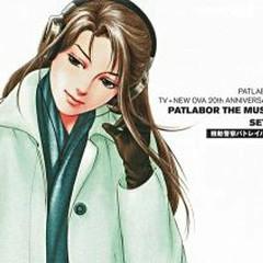 PATLABOR TV+NEW OVA 20th ANNIVERSARY PATLABOR THE MUSIC SET-3 CD4 No.4