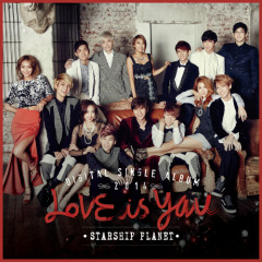 Starship Planet 2014 - K.will,SISTAR,Boyfriend