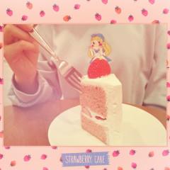 Strawberry Cake (Single)