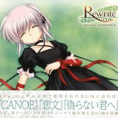 Rewrite Original Soundtrack CD1 - Key Sounds Label